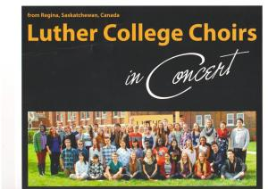 Luther Choir Concert