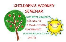children's worker seminar