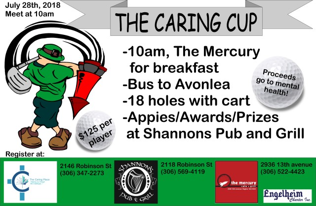 Caring Cup Poster