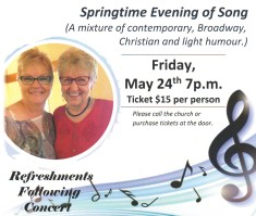 Springtime Evening of Song