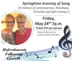 Springtime Evening of Song